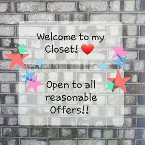 Welcome to my closet! ❤